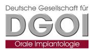 Logo der Deutschen Gesellschaft für Orale Implantologie