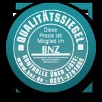 Qualitätssiegel Bund Naturheilkundlicher Zahnärzte