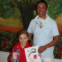Gewinnerin des Malwettbewerbs Grafing 2014