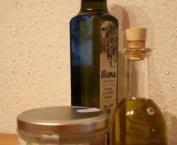 Öl ziehen - verschiedene Öle